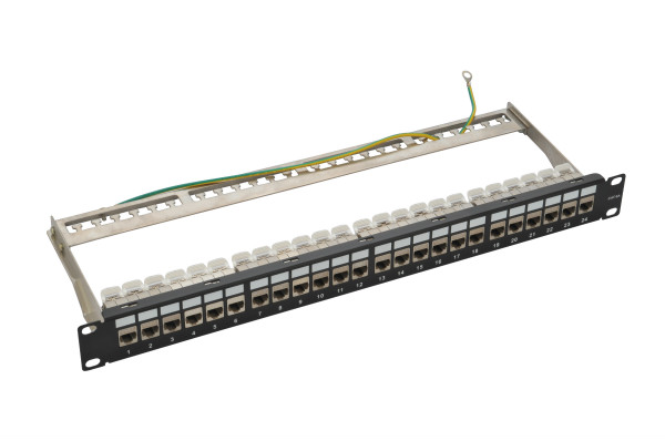 STP Cat.6/Cat.6A Patch Panel