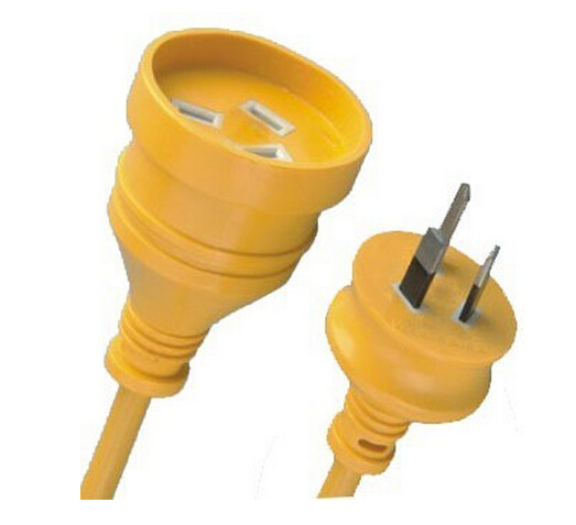 SAA Power Cord With Extension Lead Socket